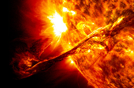 Solar activity forecasts