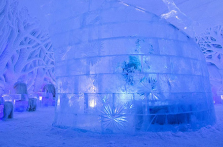 ICE DOMES (VISIT & LUNCH)